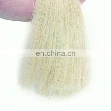 Double drawn tape human hair extention color 60# silky straight skin hair weft