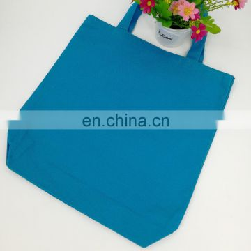Heavy duty cotton canvas shopping tote bag