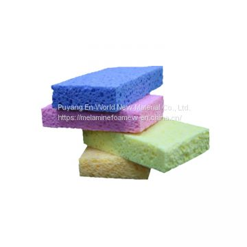 cellulose sponge stock feature kitchen cleaning produce