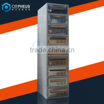 High quality household sundries stainless steel 9 door postal boxes                                                                                                         Supplier's Choice