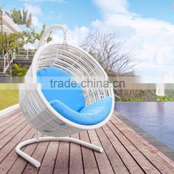 Enjoyable Wicker Rattan Swing Chair Furniture Rattan Outdoor Ibusinesslaw Wood Chair Design Ideas Ibusinesslaworg