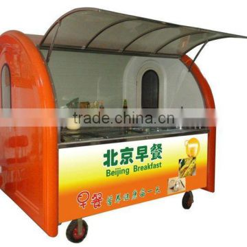 Mobile food trailer catering trailers crepe food trailer China food trailer mobile coffe/ icecream trailer