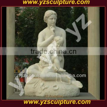 Carving Stone Modern Marble Sculpture For Sale