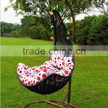 Unique Egg Shape Outdoor Single Seat Hanging Garden Swing ...