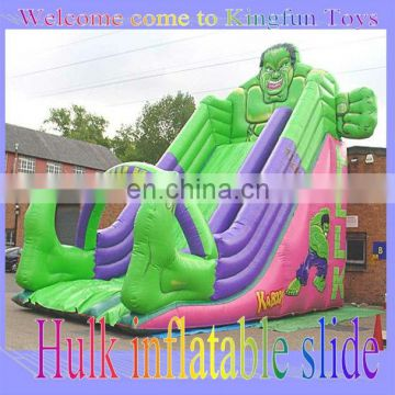 HOT Hulk inflatable slide for sale