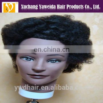 Human hair wholesale top quality human hair training mannequin head african american mannequin head adjustable mannequin head