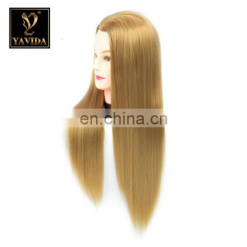 human hair practising training head for hair dressers