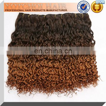 2013 Top quality beautiful cheap ombre hair extension