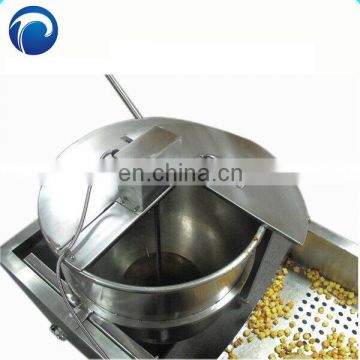 Gas kettle corn spherical popcorn maker machine