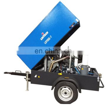 High efficiency drive industrial electric fixed screw air compressor made in China