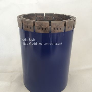 T6-86 impregnated diamond core drill bits, exploration drilling bit, rock coring, geotechnical drilling bits