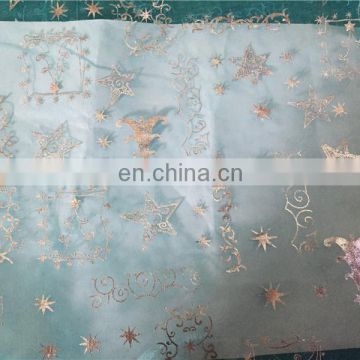 Wholesale Pleased Colorful Decoration Organza Fabric