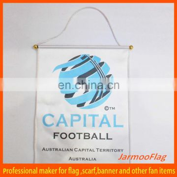 wall hanging sports club exchange flag