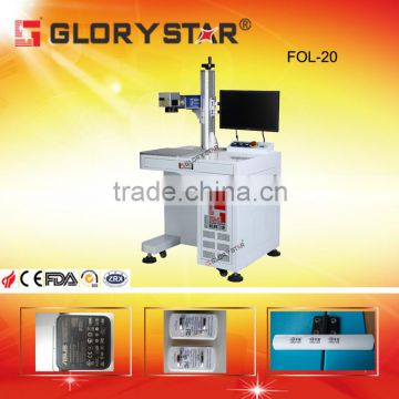 Dongguan manufacturer directly Promotional 20w fiber laser marking machine for bearings marking
