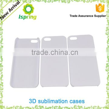 3D sublimation Plastic Phone Case, do print by yourself, Sublimation Mobile Phone Cover for iPhone 6/6S