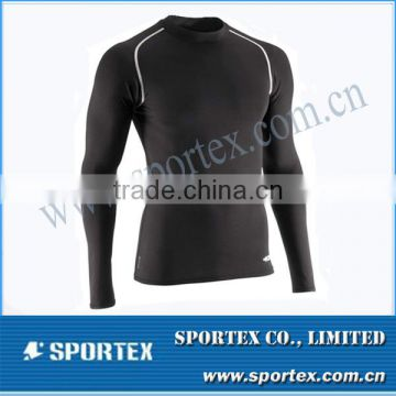 2014 series baselayer compression top for men, high quality mens compression wear, new design mens compression shirt