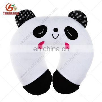 Soft Plush U-Shape Neck Pillow Home Car Office Rest Panda Travel Pillow