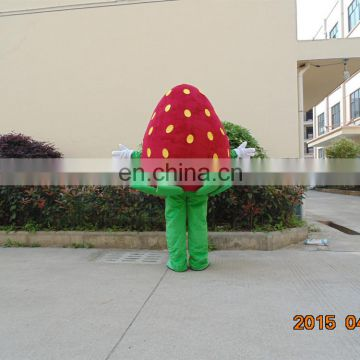 China factory adult strawberry mascot costume