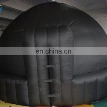 Mobile Inflatable planetarium dome for digital projection/ inflatable projection dome tent/ inflatable planetarium dome