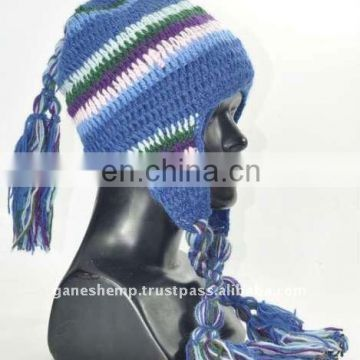 Tassel Ear Flap Hats