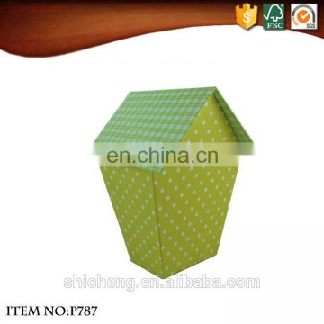 New products 2017 house shape decorative cardboard storage box