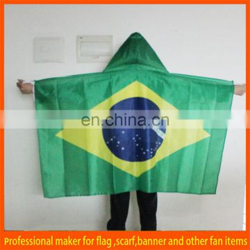 2014 World cup body flag with sleeve