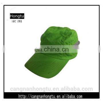 green Customized Baseball caps With Your Logo