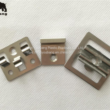 Outdoor flooring hidden fasteners