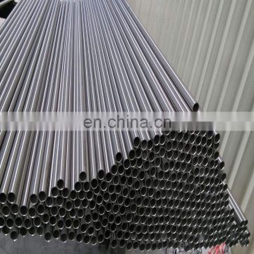Grade ASTM 201 304 316 / 022Cr17Ni12Mo2 Welded Round / Square Stainless Steel Pipe Tube