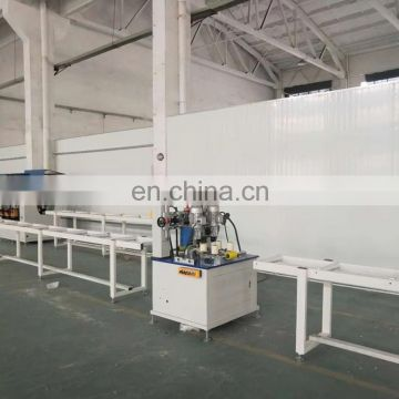 Advanced Thermal Break Aluminum knurling machine with strip insertion for aluminum window and door