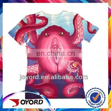 New pattern short sleeve promotion t shirt