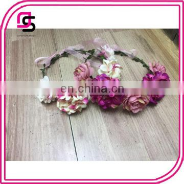 2017 fashion flower rose hair accessories colorful clips