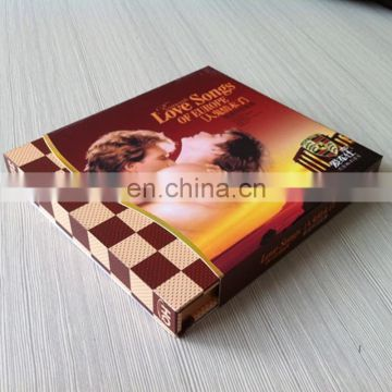Colorful magnet closure high quality CMYK printed cardboard rigid nice looking packaging paper box