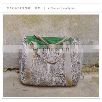 Nature style japan canvas bag