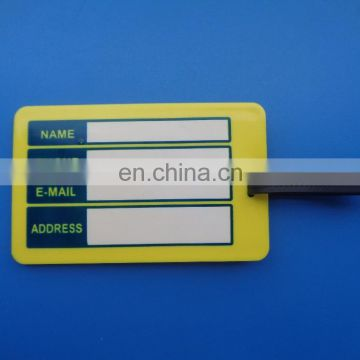 best tour travel company agency promotional advertisement giveaway gifts soft pvc rubber luggage tag