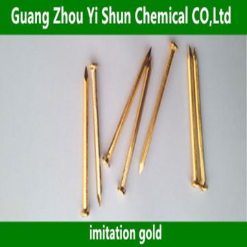 Chemical imitation gold  Galvanized sheet gold agent Zinc alloy surface treatment