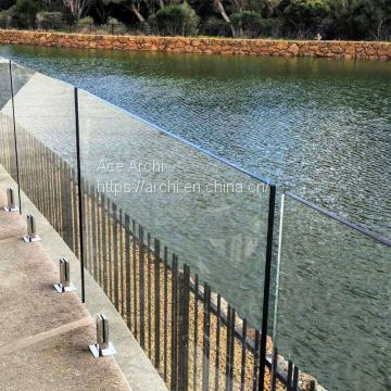 Factory Price Swimming Pool Fence SS304 SS316 Glass Spigot