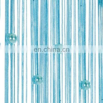 Hanging half door beads curtain