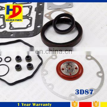 For Kubota Engine 3D87 Crankshaft Oil Seal With Front And Rear