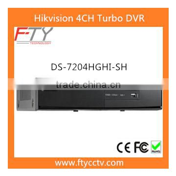 DS-7204HGHI-SH 4CH Turbo HD Hikvision DVR DS 7200 Price of