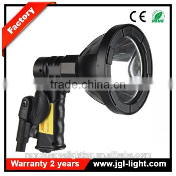 high power led flood light marine equipment Portable hunting search light hand held LED Rechargeable 10w cree car spotlight
