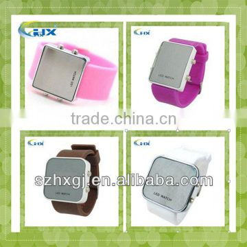 G-2014 Hot Selling Silicone Wrist Watch,Silicone Led Watch.