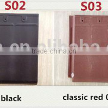Yixing colorful stone coated roof tile, discount lightweight roofing materials