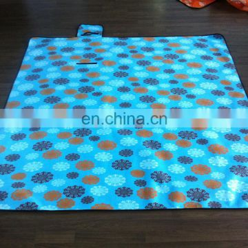 2015 hot sale picnic rug,waterproof rug,with handle