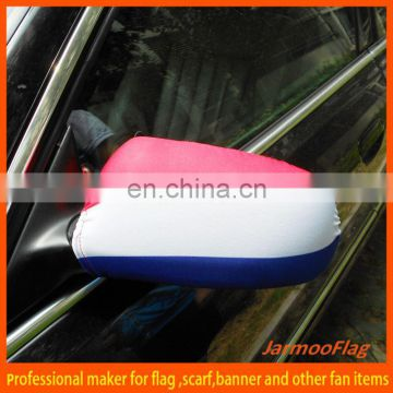 hot striped custom car mirror sock