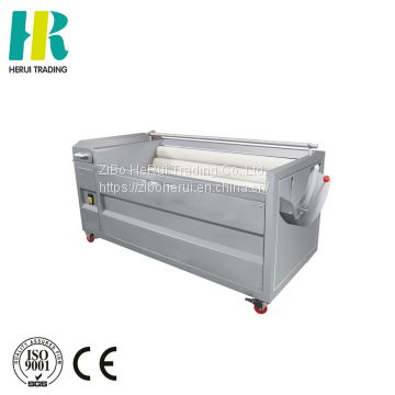Automatic potato carrot washing peeler yam peeling machine