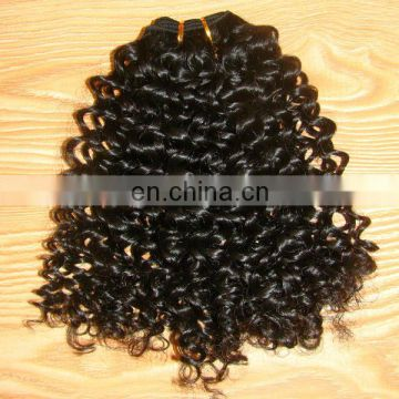 Good quality Peruvian hair bulk kinky curl unprocessed 6a peruvian human hair extension