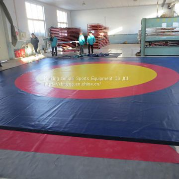 Wrestling Mat Compressed Sponge+PVC Cloth Wresting Mat
