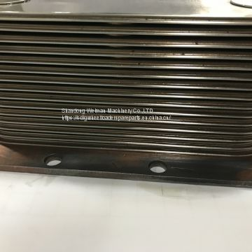 Original DCEC Cummins Engine Spare Parts C3966365 6CTA8.3 OIL COOLER