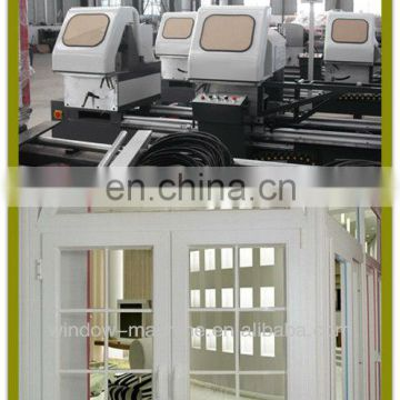 UPVC Window door machines/Double-Head cutting saw with digital display/Digital display double mitre saw